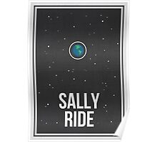 SALLY RIDE- Women in Science Collection Poster