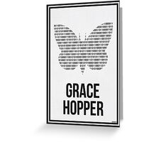 GRACE HOPPER - Women in Science Collection Greeting Card