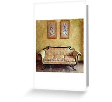 Grandma's Parlor Greeting Card