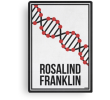 ROSALIND FRANKLIN - Women in Science Collection Canvas Print