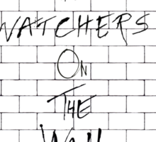 The Watchers On Pink Floyd's Wall Sticker