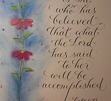 """""""Blessed is She"""" by Melissa Goza"""