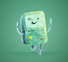 Beemo Polygonal | Adventure Time by abowersock