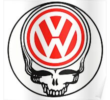 Steal Your Wagen Red Poster