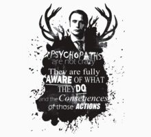Psychopaths are not crazy  by 666hughes