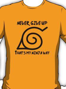 Ninja Way - Naruto T-Shirt