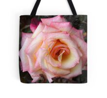 Take Me As I Am ~ An Imperfect Rose Tote Bag