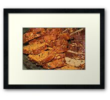 Nuts to You ~ Homemade Nut Breads Framed Print