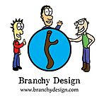 Branchy Design Logo ft. Characters by Branchy