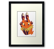 French Fry Fanatic Framed Print