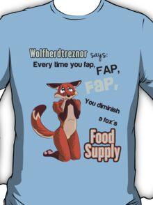 Don't Starve him! T-Shirt