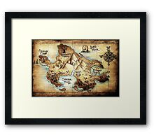 Neverland Framed Print