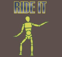 Ride It Boarder T by bodTees