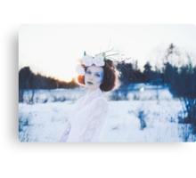 Ice Princess Canvas Print