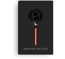 Hand of the Sith Canvas Print