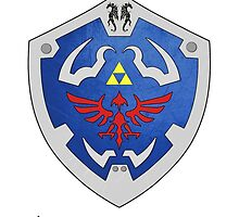 Zelda Shield by SantanaArt