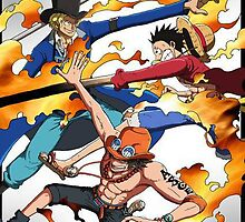 One piece Brothers! ASL, Ace, Sabo, Luffy, All items by Nomad56641