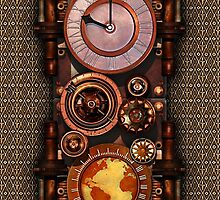 Infernal Steampunk Timepiece for Samsung by Steve Crompton