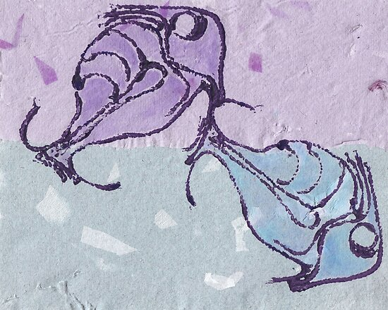 Fish on Paper by Kayleigh Walmsley