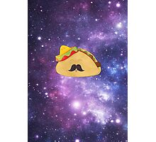 A Gentleman Mexican Galactic Taco Photographic Print