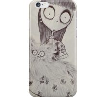 Mr Whiskers Had a Dream About You Last Night iPhone Case/Skin