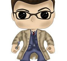 Dr Who Tennant by SpaceWaffle