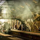 City of Melbourne Steam Train #5 by bekyimage