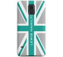 Lewis Hamilton (Team colours) Samsung Galaxy Case/Skin