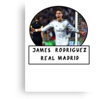 James Rodriguez (Real Madrid) Canvas Print