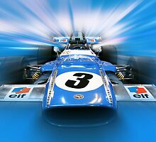 Jackie Stewart - 1969 MS80 by Tom Clancy