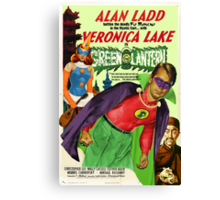 Alan Ladd as Green Lantern Movie Poster Canvas Print