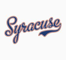 Syracuse Script Blue  by Carolina Swagger