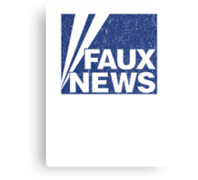 Faux News Canvas Print