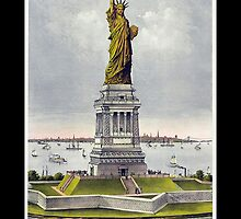 Statue of Liberty Enlightening the World; USA; New York; America by TOM HILL - Designer