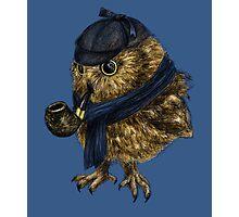 Sherlock // owl Photographic Print