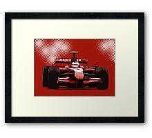 Championship Cars - Kimi 2007 Framed Print