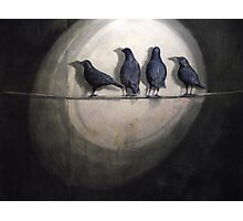 Up Against the Wall: Bye Bye Blackbird Photographic Print