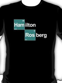 Team Hamilton Rosberg (black T's) T-Shirt