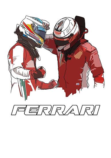 Fernando & Kimi 2014 by Tom Clancy