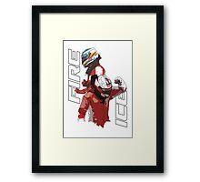 Alonso & Kimi (Fire & Ice) Framed Print