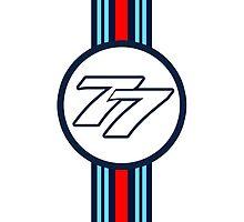Bottas 77 by Tom Clancy