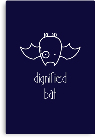 Dignified Bat - two lof bees by Josh Bush