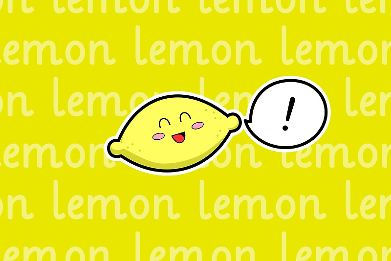 Happy Lemon - two lof bees by Josh Bush
