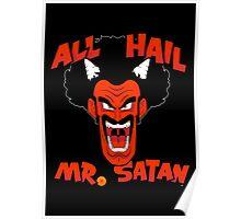 All Hail Mr. Satan Poster