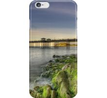 Mossy Rocks At Sunset iPhone Case/Skin