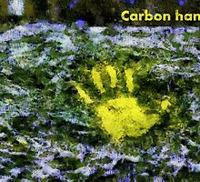 Carbon handprint by Fernando Fidalgo