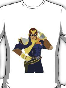Captain Falcon Vector T-Shirt