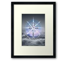 Life's Roughest Storms • Refuse To Sink  Framed Print