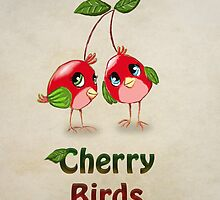 Cherry Birds by Princess-Suki