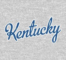 Kentucky Script Blue VINTAGE by Carolina Swagger